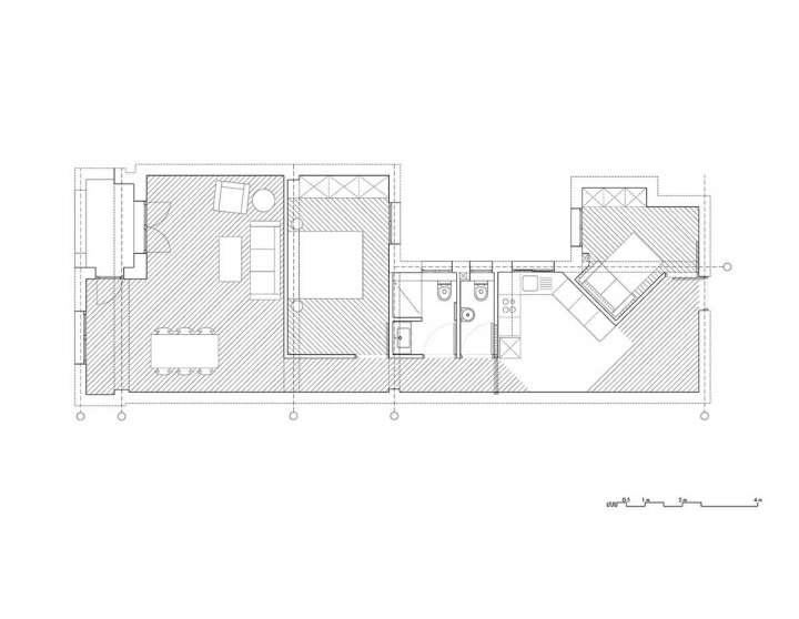 پلان خانه کوچک