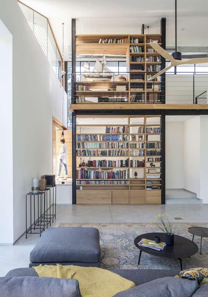 طراحی کتابخانه مدرن