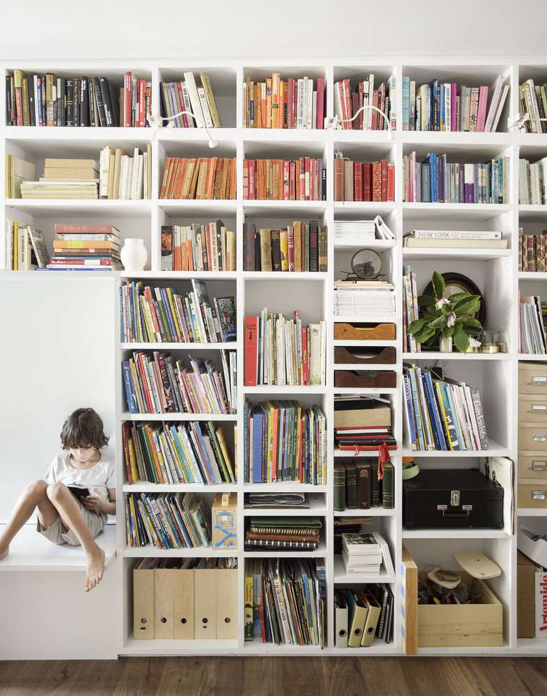 ایده طراحی کتابخانه