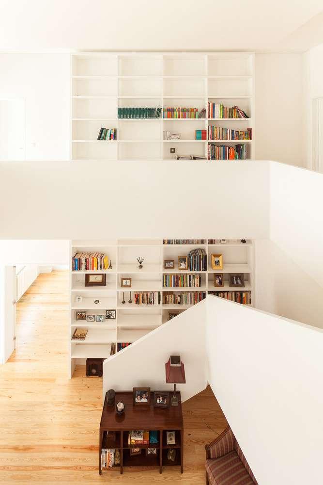 طراحی کتابخانه برای منزل