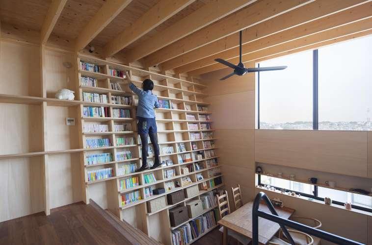 طراحی کتابخانه خانگی