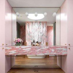 10 طراحی حمام لوکس و منحصر به فرد