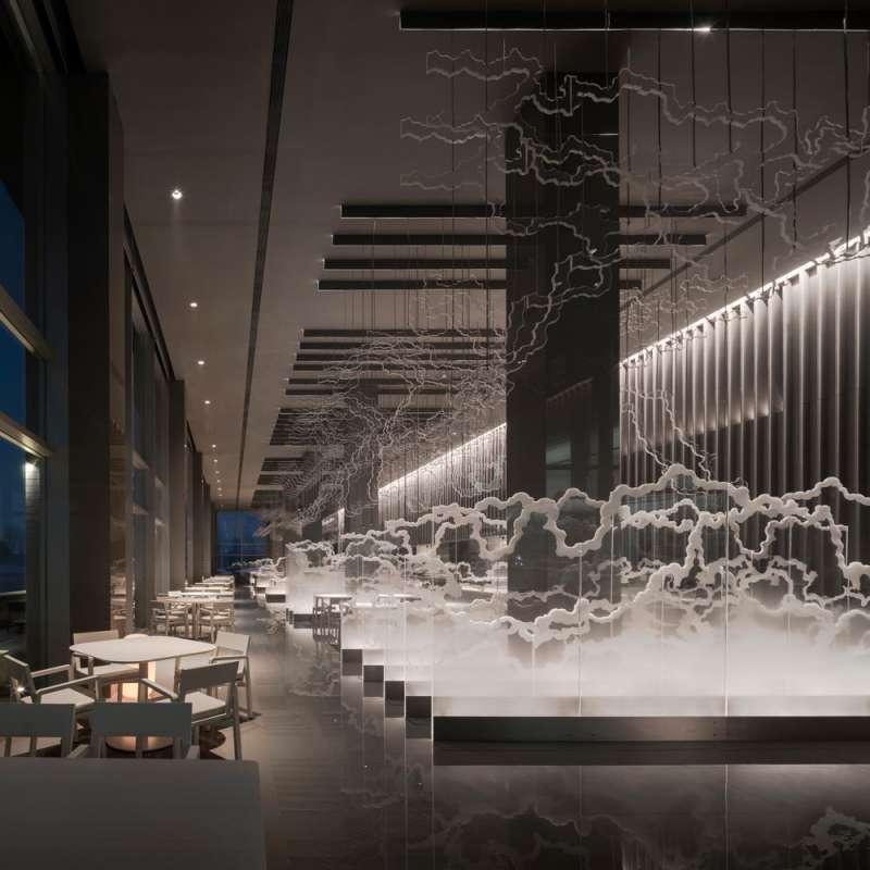 طراحی داخلی مرکز آب درمانی