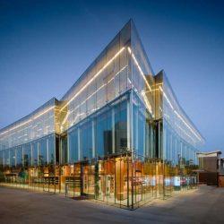 طراحی کتابخانه به سبک معماری ساحلی