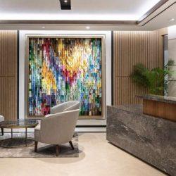 طراحی داخلی دفتر کار هتلداری