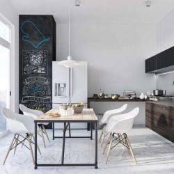 طراحی 20 اتاق غذا خوری مینیمال