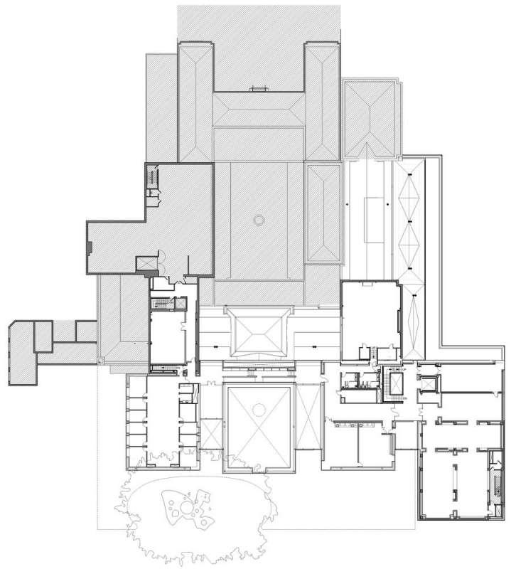 پلان موزه هنر نورتون