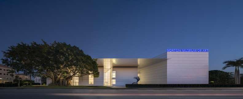 طراحی موزه هنر نورتون