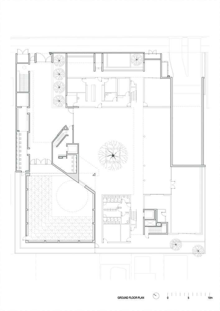 پلان مسجد مدرن ملبورن