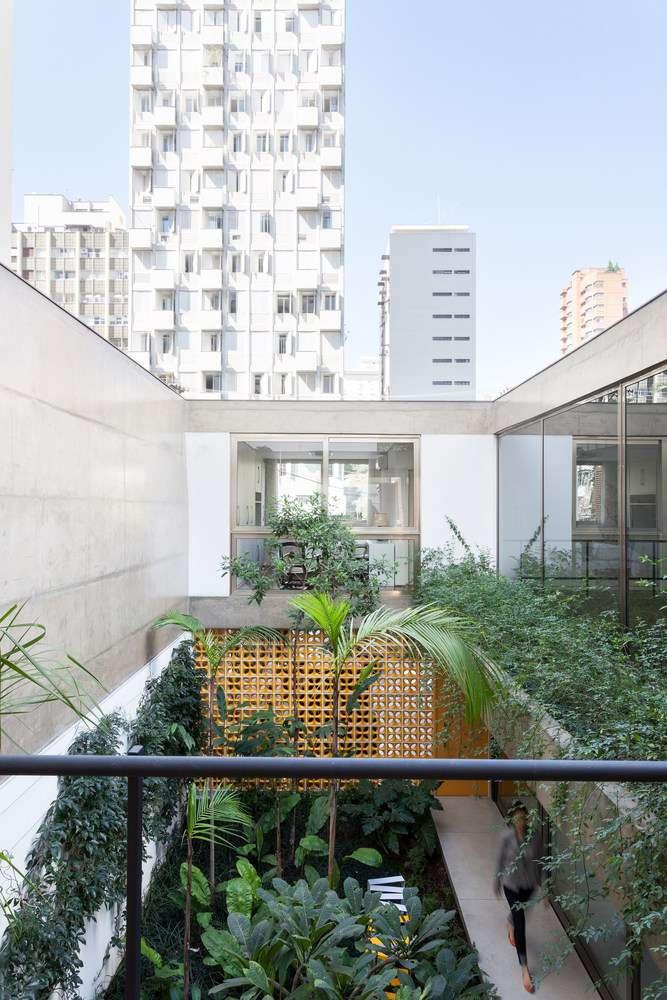 طراحی حیاط خلوت مدرن