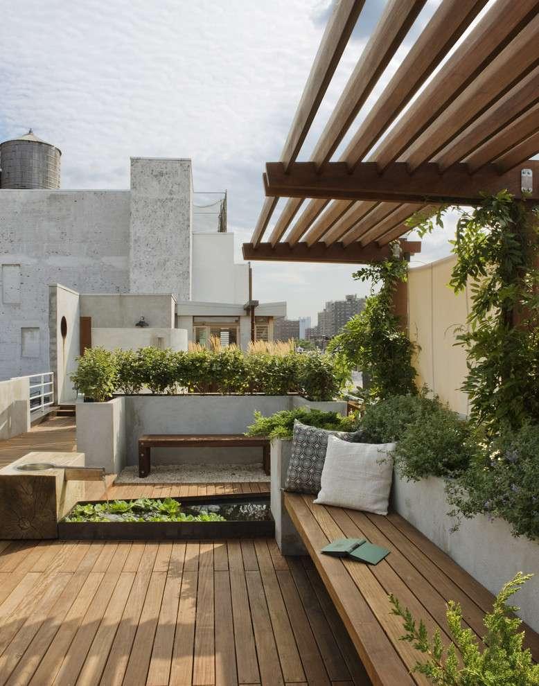 طراحی پشت بام