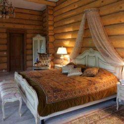 طراحی داخلی اتاق خواب روستیک