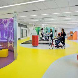 طراحی مرکز توانبخشی کودکان و بزرگسالان در شیکاگو