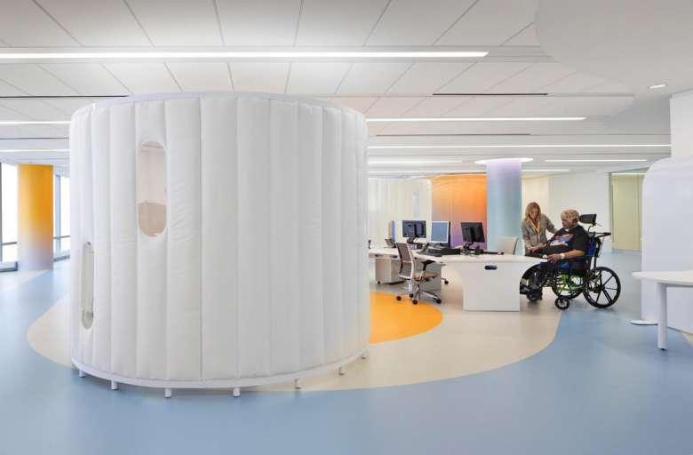 طراحی مرکز توانبخشی