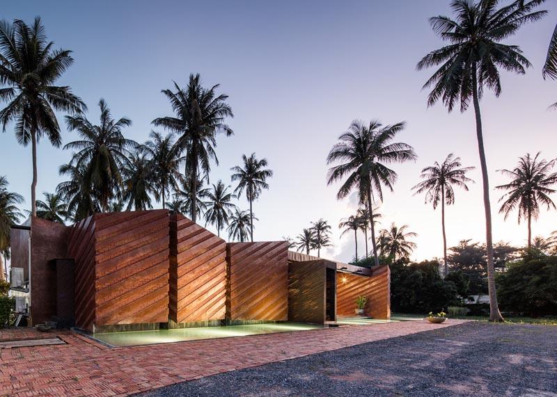 معماری خانه ویلایی