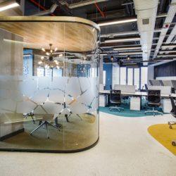 طراحی دفتر کار با متریال سازگار با محیط زیست