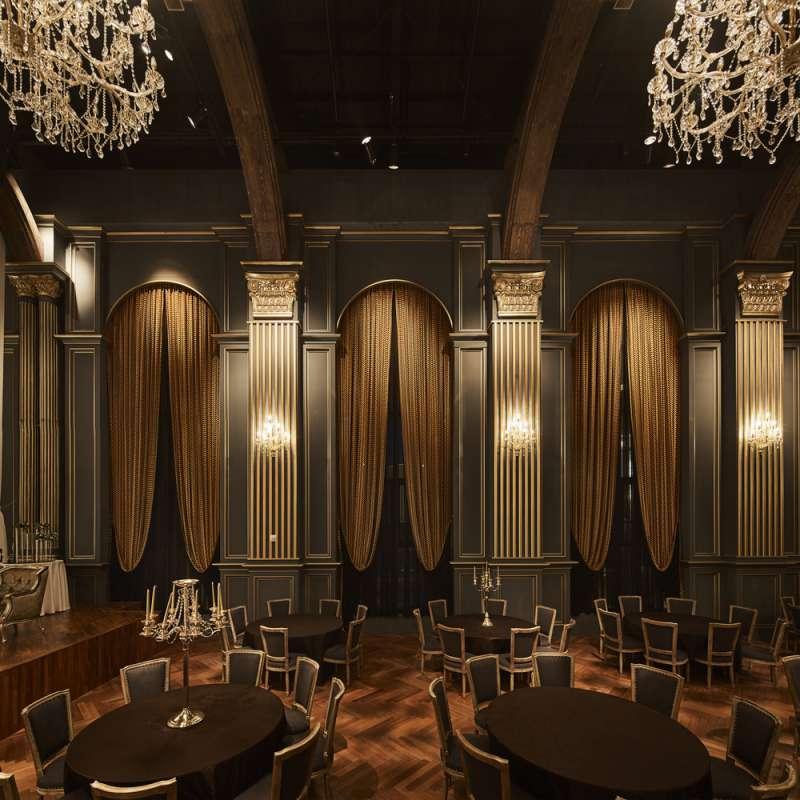 طراحی داخلی سالن تشریفات عروسی