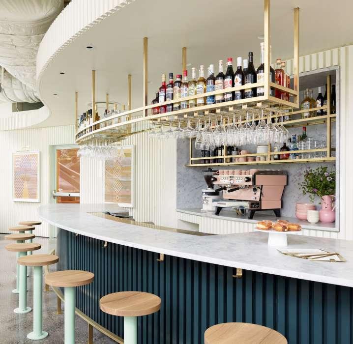 طراحی رستوران مدرن به سبک ایتالیایی