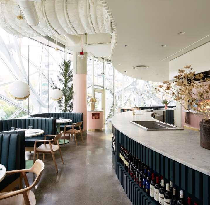 طراحی رستوران ایتالیایی