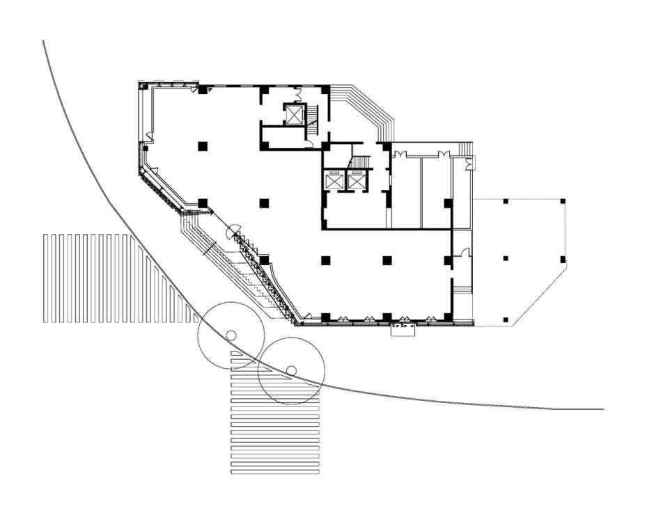 پلان فروشگاه تجاری با متراژ 100 تا 1000 متر مربع