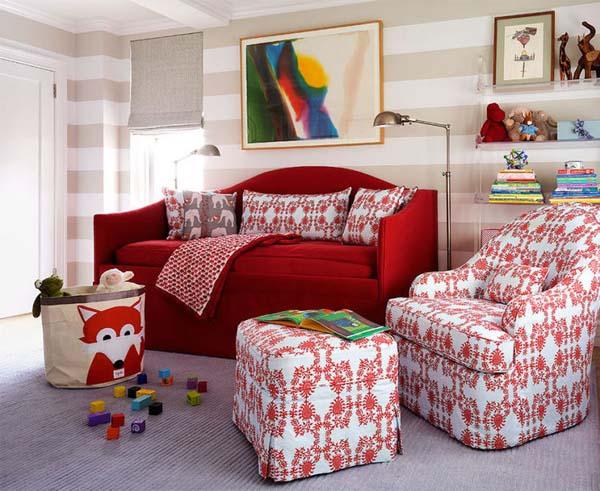 ایده طراحی دکوراسیون اتاق نوزاد