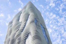 ساختمان های که طبیعت و شهر را درهم می آمیزند