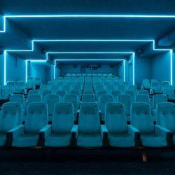 طراحی 10 سینما به همراه پلان و مقطع