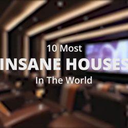 10 خانه لوکس با قیمت های دیوانه وار