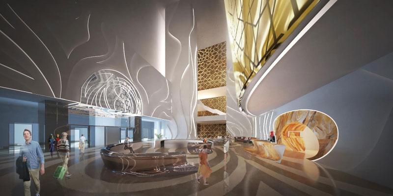 معماری مرکز تجاری ایران مال