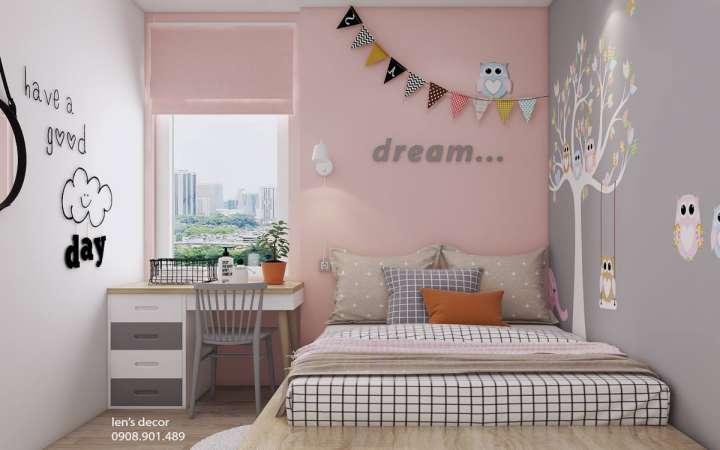 اتاق کودک با رنگ پاستلی