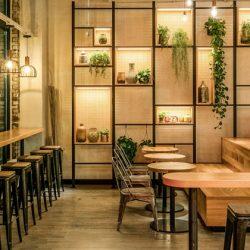 طراحی داخلی رستوران نعنا در نیویورک