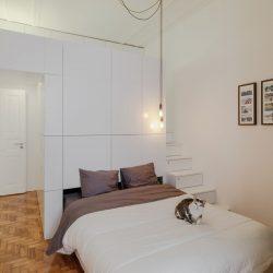 طراحی آپارتمان با مبلمان چند منظوره