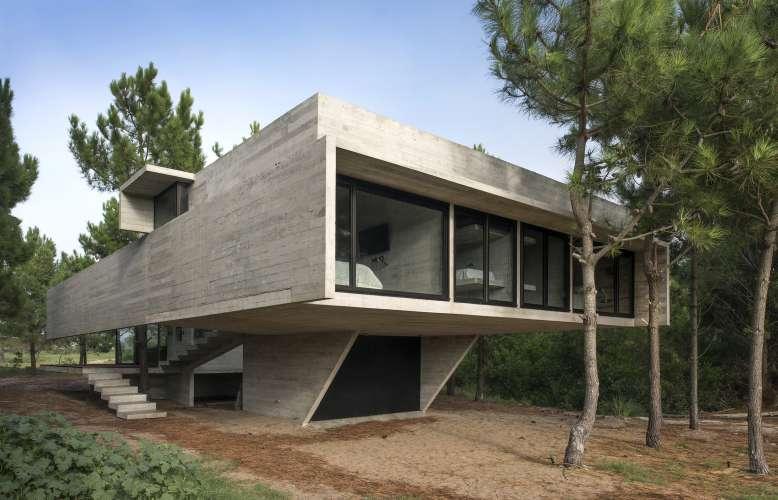 طراحی ساختمان بتنی