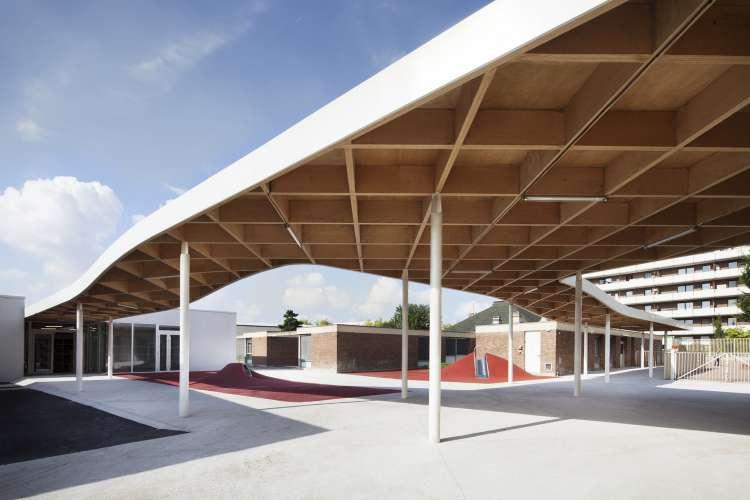 طراحی مدرسه ابتدایی