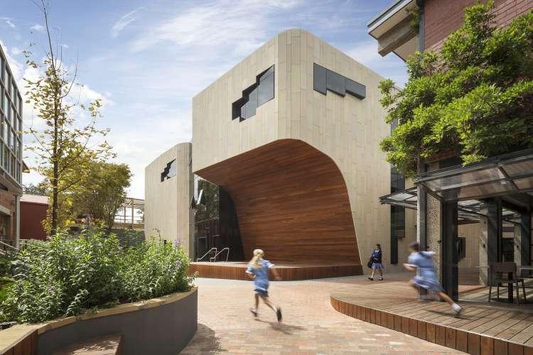معماری مدرسه