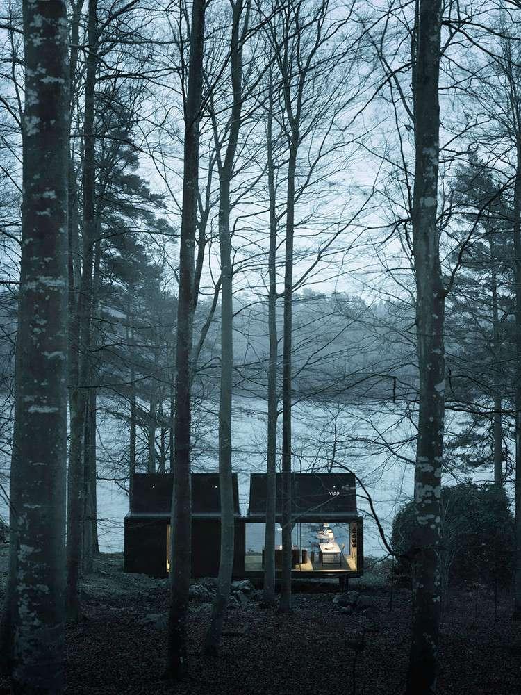 طراحی کابین زمستانی