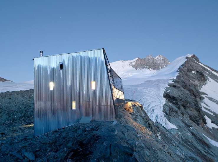 طراحی اقامتگاه زمستانی
