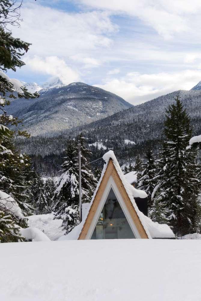 طراحی پناهگاه زمستانی