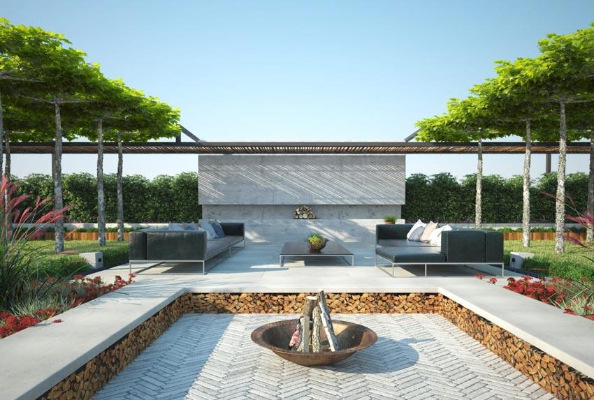 دانلود آرچ مدل 190 - مدل سه بعدی باغ