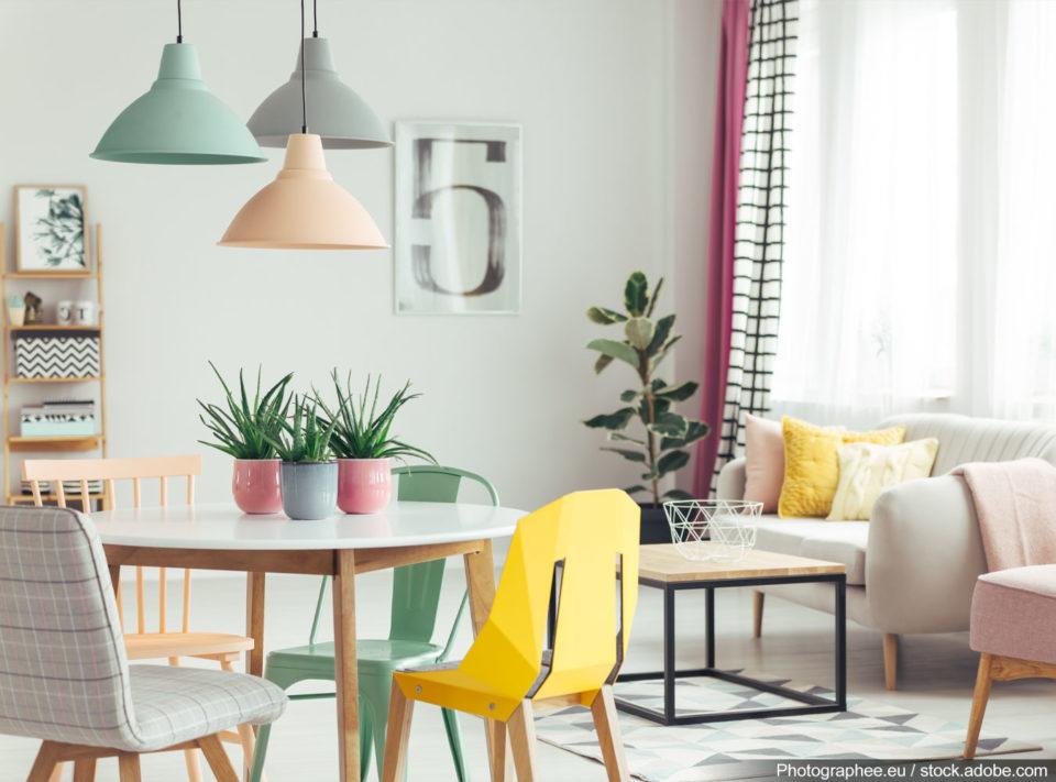 کاربرد رنگ در طراحی داخلی