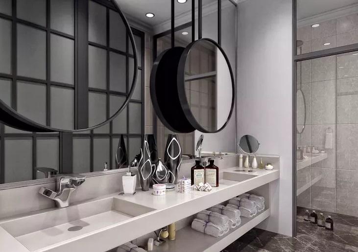 طراحی های چند لایه آینه