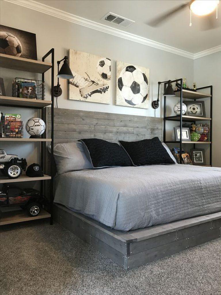 طراحی داخلی اتاق خواب پسرانه