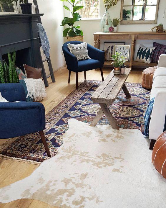 روش های استفاده از چند مدل فرش در طراحی داخلی
