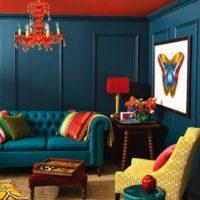 رنگ چشمگیر در دکوراسیون داخلی