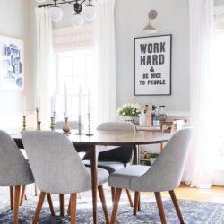 شیوه های ایجاد تغییرات در طراحی اتاق غذا خوری