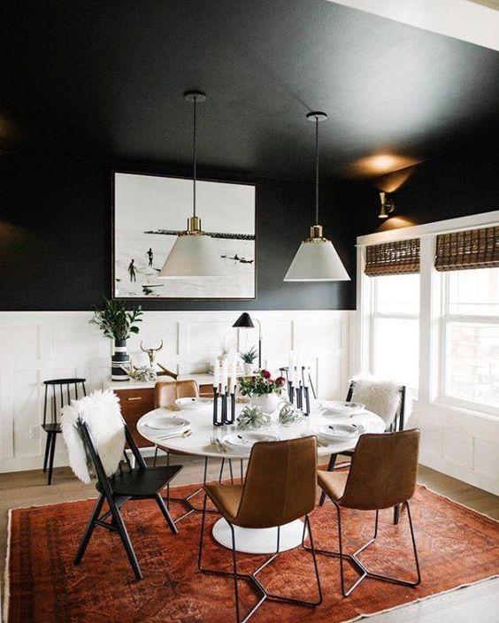 طراحی اتاق غذا خوری