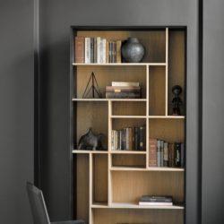 جدید ترین مدل های کتابخانه در دکوراسیون منزل