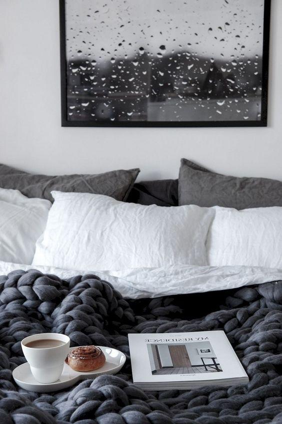 دکوراسیون اتاق خواب به سبک اسکاندیناوی