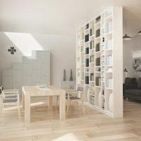 روش های جداسازی آشپزخانه از نشیمن