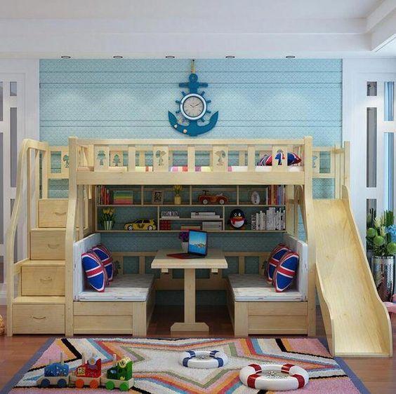 طراحی اتاق کودک در خانه های کوچک